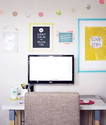 washi tape decor for home office design budget friendly home offices
