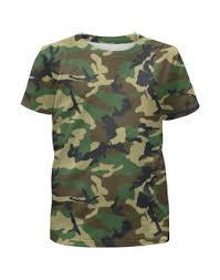 """Детские футболки c красивыми принтами """"лес"""" - <b>Printio</b>"""