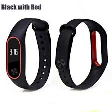 Boorui Silicone Mi <b>Band</b> 2 Bracelet <b>Strap Double Color</b> Miband2 ...