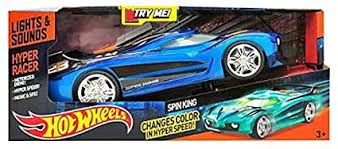 Hot Wheels Spin King Hyper Racer Vehicle by Hot ... - Amazon.com