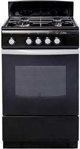 Газовая плита <b>De Luxe 5040.38Г</b> (Щ) черная купить недорого в ...