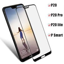 <b>Protective Glass For Huawei</b> P20 Lite Case <b>Tempered Glass For</b> ...
