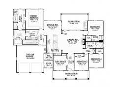 images about fav   sq foot house plans on Pinterest    Floorplans One Story  Nice Floorplans  View Floorplan  House Floorplans  Ranch Floor Plans Bedrooms  Ranch Home Floor Plans  Bedroom One Story House