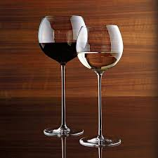 room modern camille glass: shop camille white wine glass the camille glasses rise to the occasion on elongated slender stems with bubble bowls that are perfect for cradling in hand