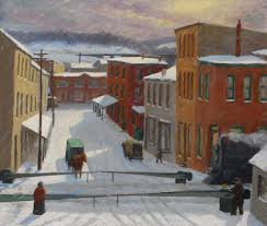 hunters in the snow it s mike ettner s blog james a jefferys drifting snow manayunk 1910