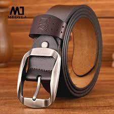 MEDYLA Man's belt Men Fashion <b>Casual High Quality</b> Belt Vintage ...