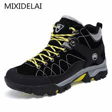 MIXIDELAI 2019 Men Boots Big Size 39 47 <b>Spring Autumn</b> Mens ...