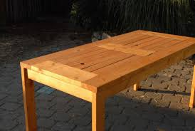 dining table woodworkers: build your own dining table plans