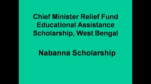 Chief Minister Relief Fund Educational Assistance Scholarship ...