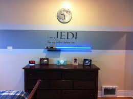 Star Bedroom Decor Star Wars Bedroom I Like That Only The Top Section Of The Wall