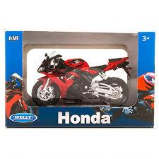 Игрушка <b>Welly модель мотоцикла</b> 1:18 Honda CBR1000RR 12819P