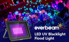 THE <b>NEW</b> 2020 MODEL - Everbeam 395nm <b>10W</b> UV LED Black ...