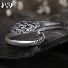 JINSE Real S990 <b>браслеты</b> из стерлингового <b>серебра и</b> твердого ...