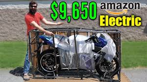 I BOUGHT the most Expensive <b>ELECTRIC motorcycle on</b> Amazon