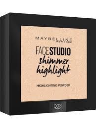 Пудра-<b>хайлайтер для лица</b> Face studio Maybelline New York ...