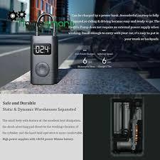 Sport <b>Xiaomi Mijia Inflatable Tire</b> Pressure Electric Pump Digital ...