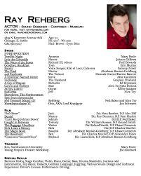 actor actor acting resume samples  seangarrette coactor actor acting resume samples