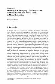 essay on importance of moral education an essay on the importance avoiding bad company the importance of moral habitat and moral values education and lifelong learning values