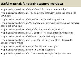 top learning support interview questions and answers interview questions and answers previous