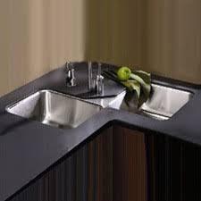 corner undermount kitchen sinks elkay lustertonexundermountdoublebowlcornerkitchensink elkay