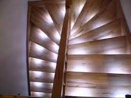 staircase led automatic dimming lights youtube automatic led stair lighting
