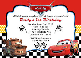 cars invitations photo disneyforever hd invitation card fabulous cars invitations photo 42 in cars invitations photo
