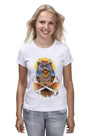 Футболка классическая <b>Mysterious Owl</b> #516349 – заказать ...