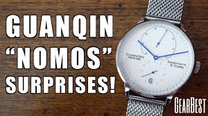 "<b>Guanqin</b> ""Nomos Lambda"" Automatic Power Reserve Watch Review ..."