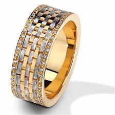 <b>Обручальное кольцо</b> из <b>комбинированного</b> золота