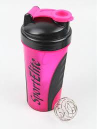 <b>Шейкер спортивный SH</b>-120 600 мл, розовый/черный <b>SPORT</b> ...