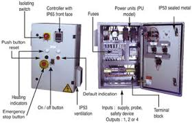 electrical control panel wiring diagram   diesel generator control    control panels heaters temperature control