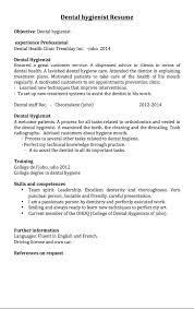 dental hygienist resume samples   good resume sampledownload full image  middot  �