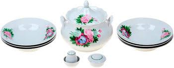 <b>Набор для супа Добрушский</b> фарфор Пион 10 пр. 2С0150   www ...