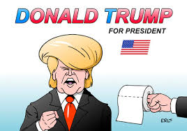 Image result for trump caricatures