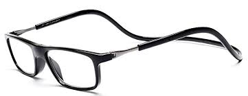 Click Magnetic Reading Glasses Adjustable Front ... - Amazon.com