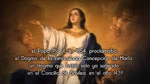 Resultado de imagen de inmaculada concepcion de maria