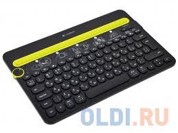 Беспроводная <b>клавиатура Logitech</b> Wireless Bluetooth Multi ...