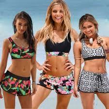 Size S-2XL Womens Girls Lady Costume Padded Swimsuit ... - Vova