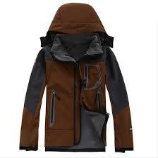 Men Outdoor <b>Jacket Soft Shell</b> Fleece Hiking Sport Coat <b>Hooded</b> ...