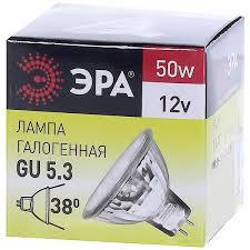 <b>Лампа галогенная Эра</b> GU5.3 50 Вт 12 В в Санкт-Петербурге ...