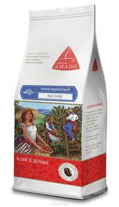 AMADO <b>Вьетнам кофе в зернах</b>, 200 г — купить в интернет ...