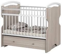 <b>Кроватка Атон</b> Мебель <b>Elsa</b> (с ящиком) (классическая ...