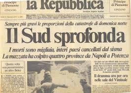 Risultati immagini per terremoto in irpinia 1980