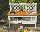 Садовый мебель своими руками фото