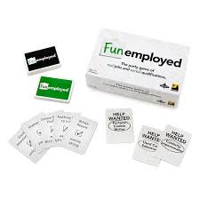 funemployed card game card game job hunting uncommongoods funemployed card game 1 thumbnail