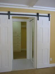 Closet Barn Doors Cool Folding Closet Barn Doors Roselawnlutheran