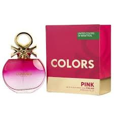 <b>Colors de Benetton Pink</b> by <b>Benetton</b> 2.7 oz EDT Perfume for ...