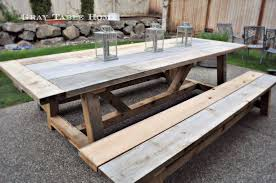 outdoor furniture restoration hardware. how to build a restoration hardware inspired outdoor table and benches furniture