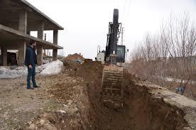 Yüksekova'da içme suyu hattı yenileniyor
