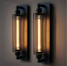 2015 hot sale e27 t300 vintage industrial black wall plate retro wall light rustic wall sconce cheap wall lighting